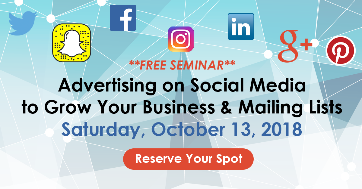 Advertising on Social Media to Grow Your Business & Mailing Lists